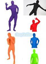 Mens Teenage Disappearing Man Invisible Superhero Costume Jumpsuit