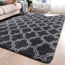 Shaggy Area Rug Fluffy Carpet Floor Mat Soft Non-Slip Modern Home Decor