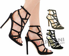 Stiletto Party Strappy Shoes for Women