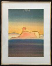 JEAN-MICHEL FOLON (1934-2005) AFFICHE ANCIENNE SERIGRAPHIE LONDON 1977 (9)