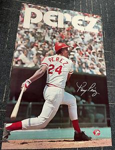 "Tony Perez Cincinnati Reds original 1975 SGA poster 24x36"""