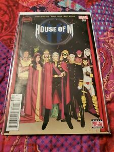 Secret Wars: House Of M #1-4
