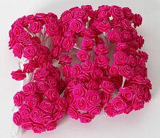Rosa fermatulle o chiudipacco per bomboniera, 144 roselline fuxia