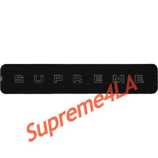 Supreme 18F/W Polartec® Scarf Black 1000% Authentic