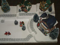 Christmas Village Display Platform J4 For Lemax Dept 56 Dickens North Pole+ More