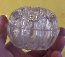Ancien Vase Pique Fleur en Verre Rond Art Déco 9 trous N°3 REIMS