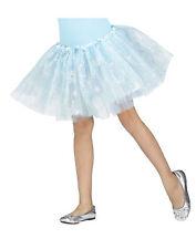 Silver Sparkle Snowflake Tutu Petti Skirt Ice Princess Snow Queen Child