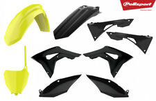 Honda Plastic kit CRF 450 R 2017 - 2020 CRF 250 2018 - 20 Neon Front Black Rear