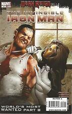 Invincible Iron Man #15 (September 2009) Dark Reign Marvel Comics High Grade