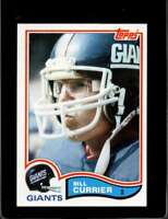 1982 TOPPS #419 BILL CURRIER EXMT NY GIANTS  *X4275