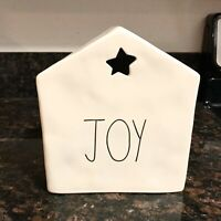 New Rae Dunn Christmas Joy House With Star Table Decoration LL By Magenta