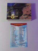 BABYLON 5 COMPLETE 60 Card Base Set Fleer/Skybox 1996 - Near Mint