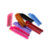 Women Folding Comb Hair Straightener For Wigs Care Brush Hair Care Comb Tools UK