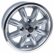 "MGB Aluminium wheel 14x5.5"" Silver polished rim 8 spoke - Minator 1962 - 1980"