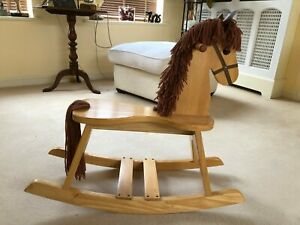 Wooden Rocking Horse Traditional Toy