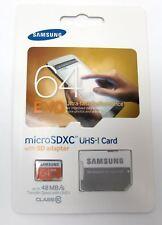 Samsung EVO 64GB 64G microSDXC micro SD SDXC UHS microSD Class 10 MB-MP64D GEN
