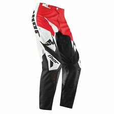 Thor MX Pants Phase Tilt Youth Motocross Enduro dirtbike Quad Pants Red