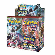 POKEMON XY BREAK THROUGH - SEALED BOOSTER BOX - 36 PACKS -NEW TRADING CARDS 2015