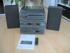 Siemens RS160 HiFi Kompaktanlage Plattenspieler Kassette CD Stereo