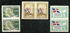 DOMINICAN REPUBLIC 1962,  LIBERATION ISSUE - Imperforated  Scott  no. 561-563