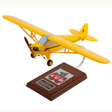 Piper J-3 Cub Desk Top Display Model Private 1/20 Aircraft Plane MC Airplane New