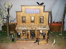 TOMBSTONE DODGE CITY DEADWOOD OLD WEST SALOON 1/12 SCALE BALSA DOLL HOUSE PLANS
