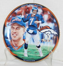 The Winning Edge 4th Issue in John Elway King of the Mountain Series Plate