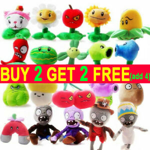 Plants vs Zombies 2 PVZ Figures Plush Baby Staff Toy Stuffed Soft Doll Hot Sell