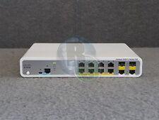 Cisco Catalyst 3560-C Series PoE 8-Port Network Switch WS-C3560-8PC-S