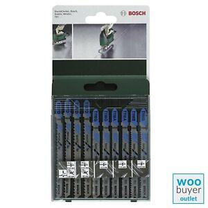 Bosch Jigsaw Blade Set (10 Pieces) for Metal 2609256745