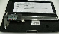 "6"" DIGITAL CALIPERS & DEPTH GAGE    A110"