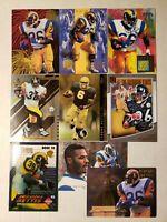 Jerome Bettis HOF - NICE 9 CARD LOT w ROOKIE PREMIUM INSERT Steelers / Rams