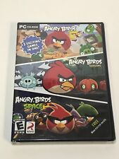 Angry Birds 3 Pack, Angry Birds / Angry Birds Seasons / Angry Birds Space, NEW