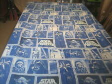 RARE VTG Star Wars Twin Flat Sheet Cotton Blend EXCEPTIONAL CONDITION!