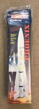 Estes Phoenix Rocket Kit 1380, Semi Scale Air-to Air Missile, D Engine, Opened