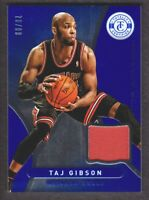 2012-13 Totally Certified Jersey Blue #102 Taj Gibson 70/99 Chicago Bulls