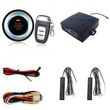 Car SUV Vibration Alarm Keyless Entry Engine Start System Push Button Remote C8