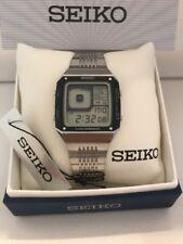 Seiko G757-4010 James Bond Octopussy Alarm Chronograph Quartz LCD Vintage Watch