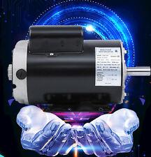 5 HP Air Compressor Electric Motor 56Frame 3450 RPM Single Phase 7/8 Shaft 230V