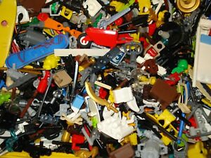 Lego x50 Genuine Mini Figure Random Mix of Accessories!
