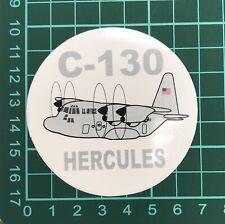 C-130 Hercules Sticker (1 PC) About 7 cm (2.75'')