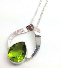 Peridot Pear Fine Necklaces & Pendants