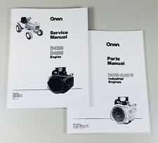 Case 1816c Skid Steer Onan B43m 16hp Engine Service Repair Manual Parts Catalog