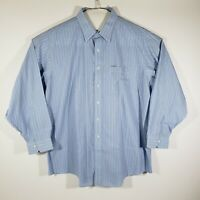 Brooks Brothers Mens Dress Shirt Button Up Long Sleeve 100% Cotton Size 18-35