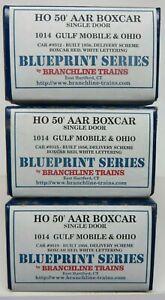 K&D SALE* Branchline Trains assorted box car KITS (Qty-3) *see description  #3