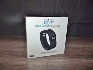 BlueWeigh Rainbow Fitness Activity Tracker New in Box Black Pedometer Fitbit