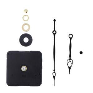 Silent DIY Quartz Movement Wall Clock Motor Mechanism Long Spindle Repair Kit
