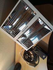 Industrie Heizstrahler Helios Infrarot Wärmestrahler Heizung Terasse 3000W