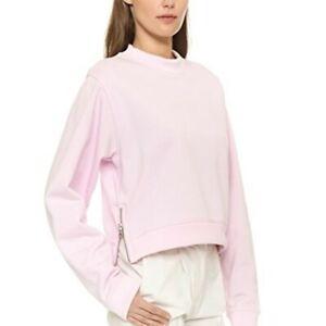 Acne Studios Pink Bird U Fleece Sweatshirt