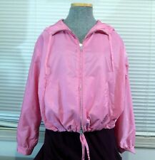 Prada Pink Women's Light Weight Active Wear Jacket Windbreaker S 42